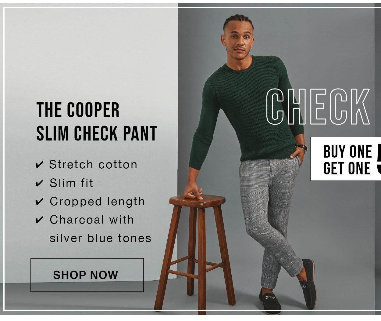 Shop Check Pants