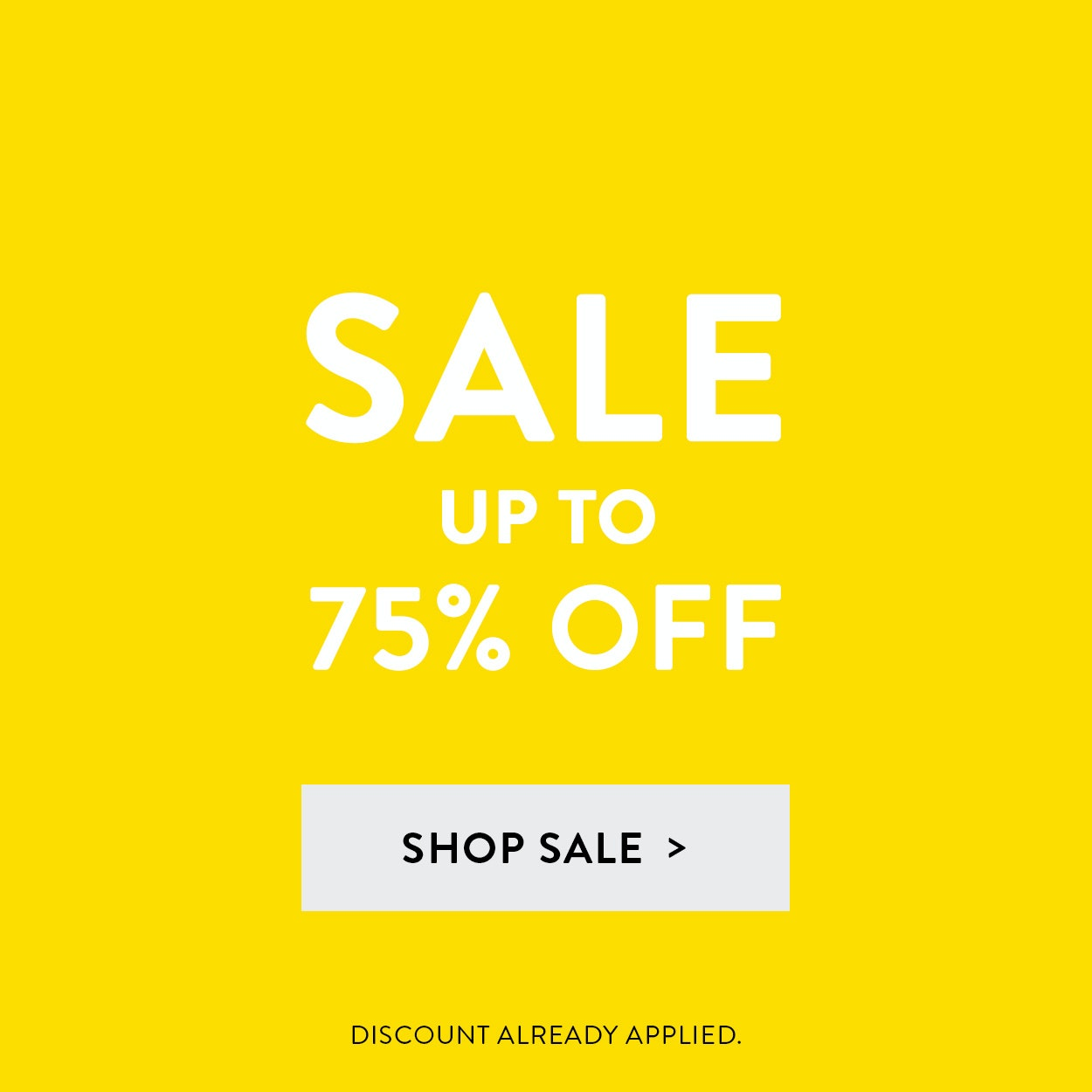 Sale: up to 75% Off select Menswear