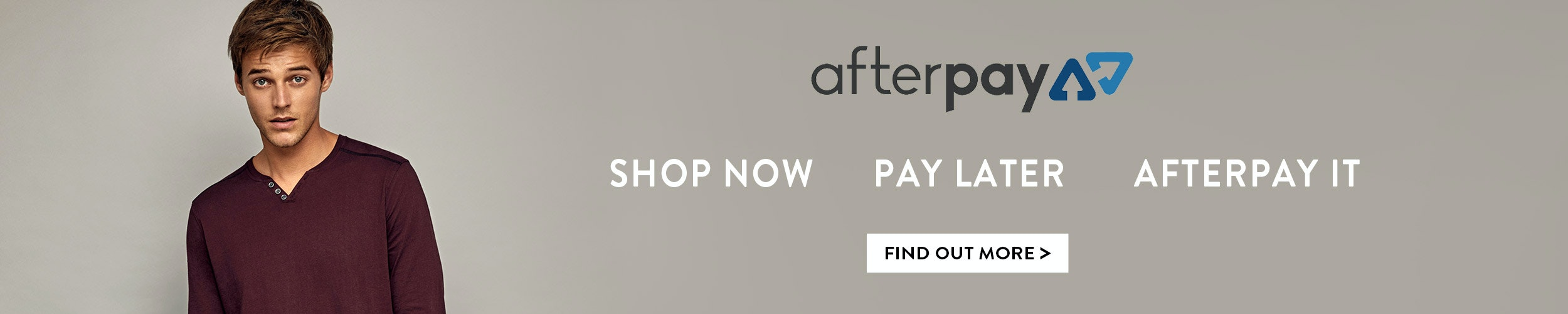 Find out about Afterpay at Tarocash - shop now, pay later
