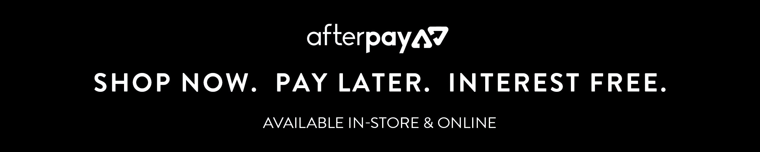 Find out about Afterpay at Tarocash - shop the latest Menswear now, pay later