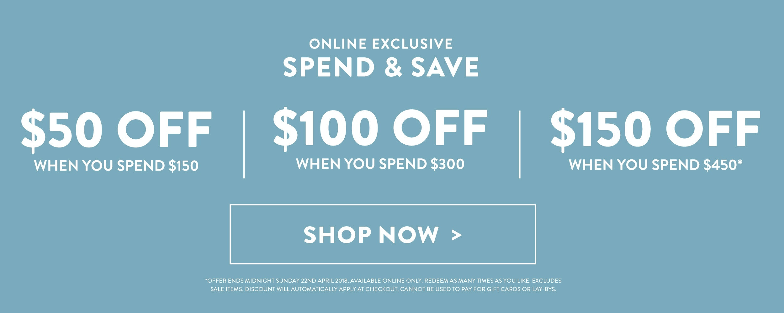 Spend and Save Online