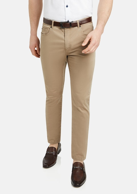 Sand Benny Stretch 5 Pkt Chino Pant