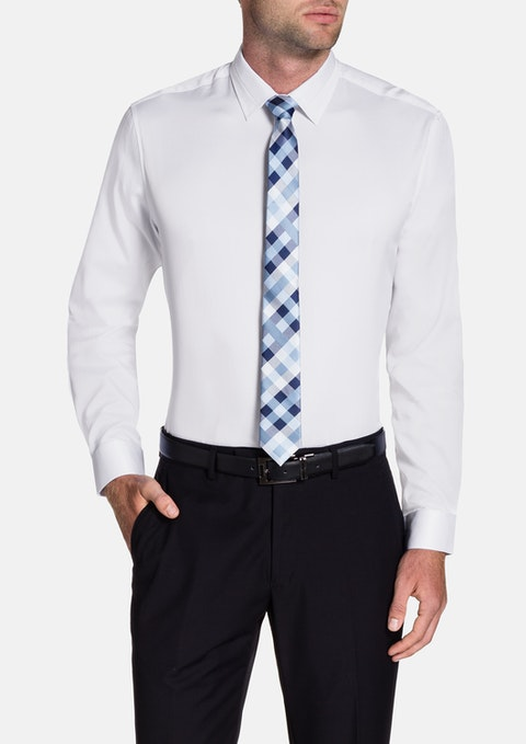 White Tobias Dress Shirt