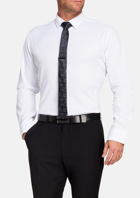 White Cranbrook Dress Shirt