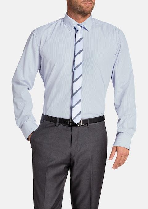 Blue Redfern Check Dress Shirt