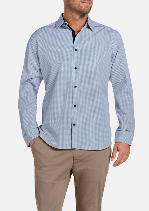 Blue Beatty Check Shirt