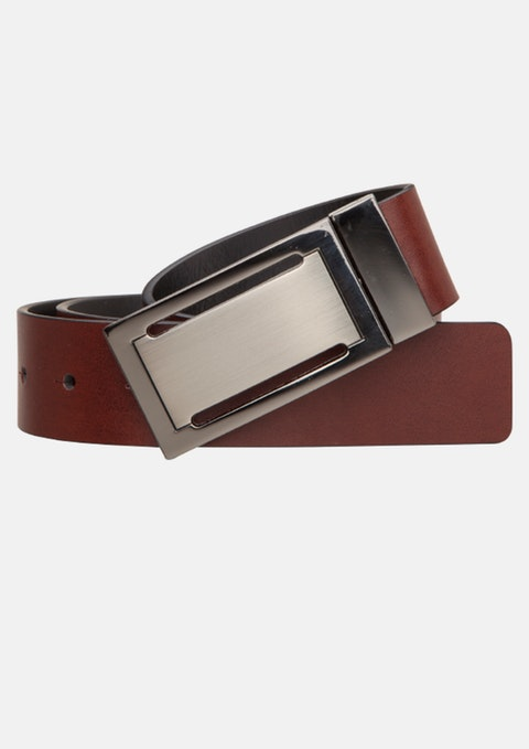 Tan/black Lampard Reversible Belt