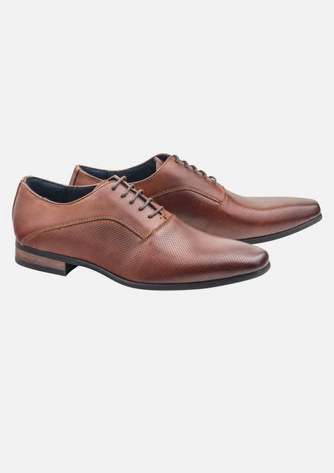 Tan Fox Dress Shoe