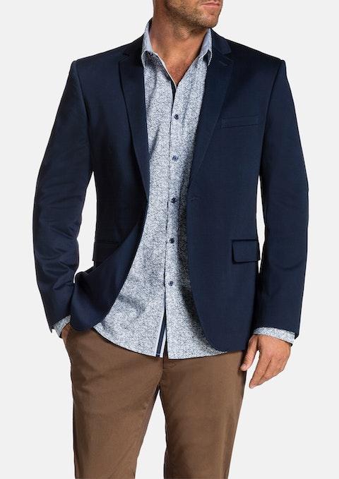 Blue Garrett Stretch Jacket