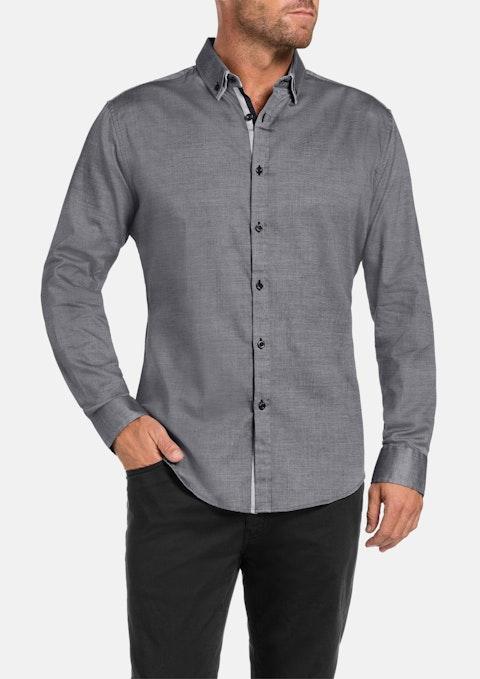 Charcoal Kendrick Textured Shirt