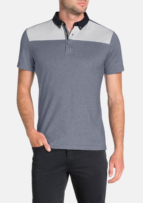 Navy Barristan Polo