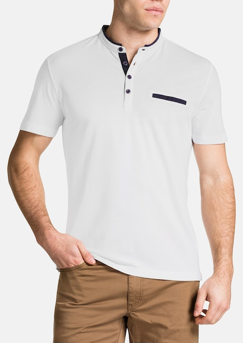 White Gordon Polo