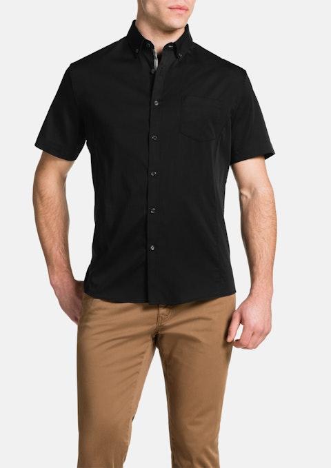 Black Patrick Stretch Shirt