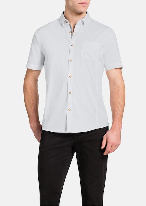 White Patrick Stretch Shirt