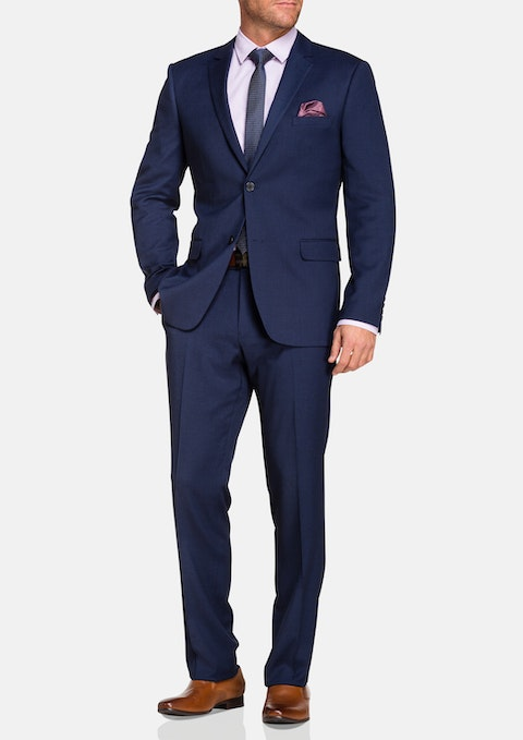 Navy Spectre Stretch 2 Button Suit
