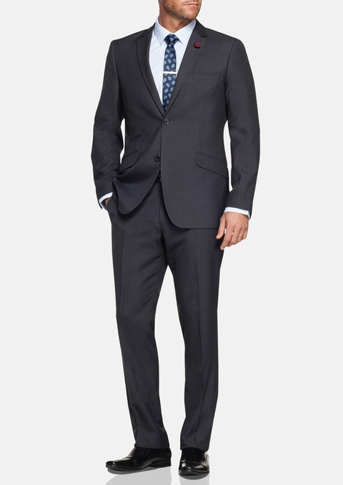 Charcoal Ealing 2 Button Suit
