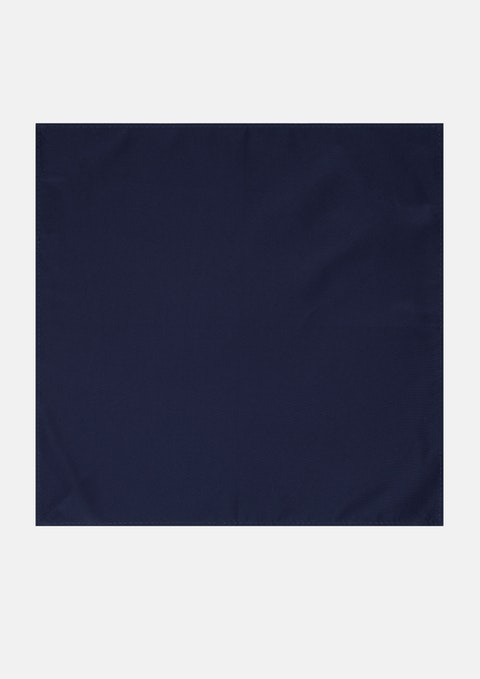 Navy Essential Pocket Square