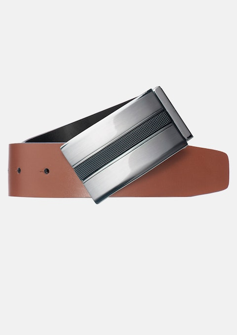Black / Tan Marcus Reversible Belt