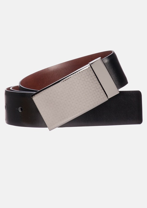 Black / Tan Sandown Reversible Belt
