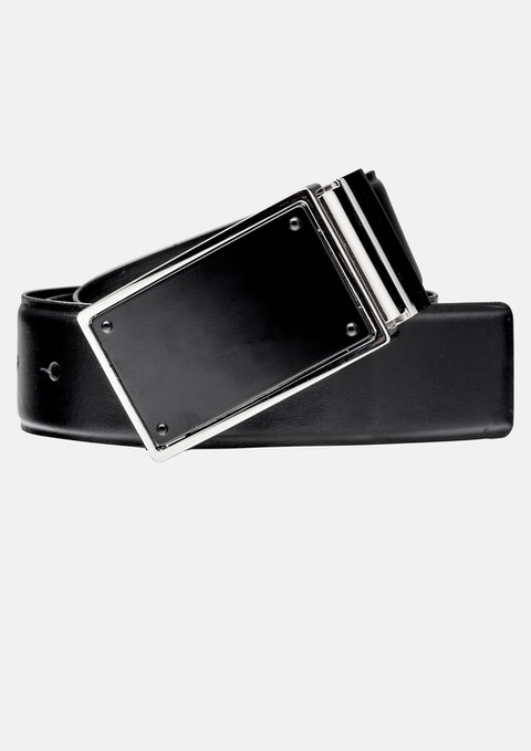 Black Black Blade Reversible Belt