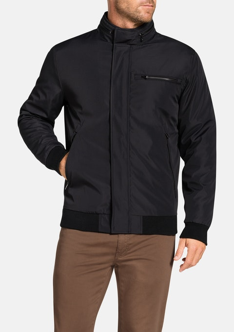 Black Barron Zip Bomber