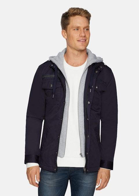 Navy Reserve Hooded Jacket