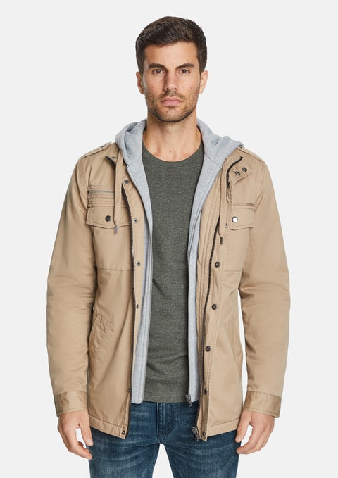 Sand Reserve Hooded Jacket