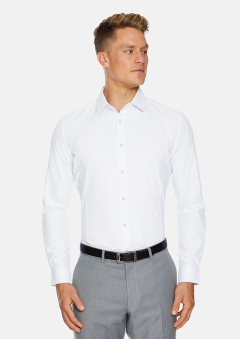 White Webster Slim Dress Shirt