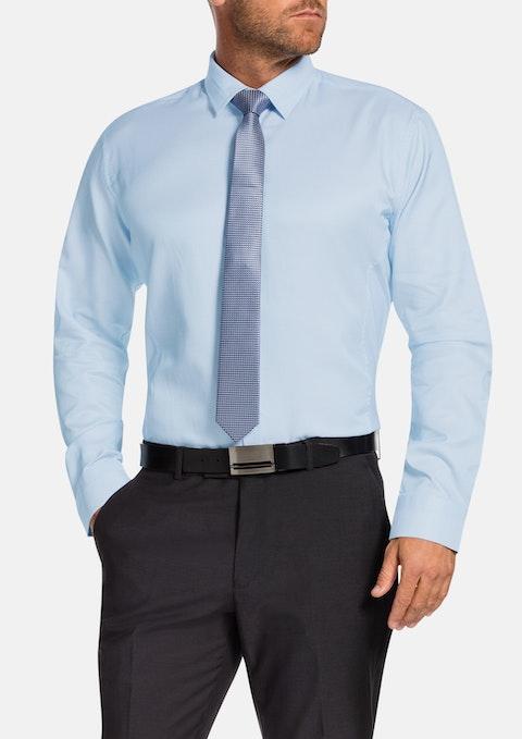 Aqua Delmar Textured Dress Shirt