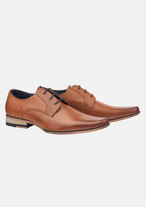 Tan Patrick Lace Up Shoe