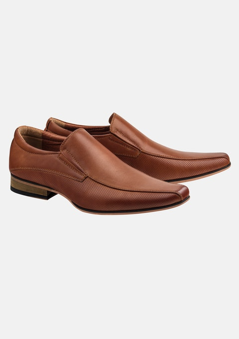 Tan Patrick Slip On Shoe