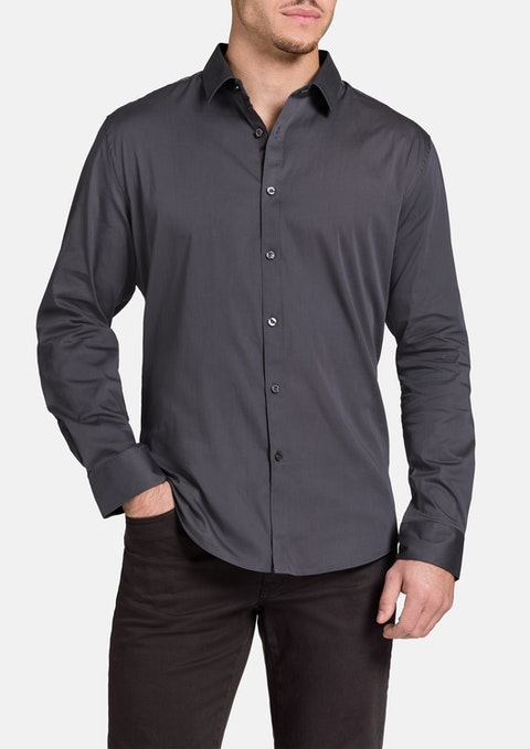 Charcoal Carribean Shirt