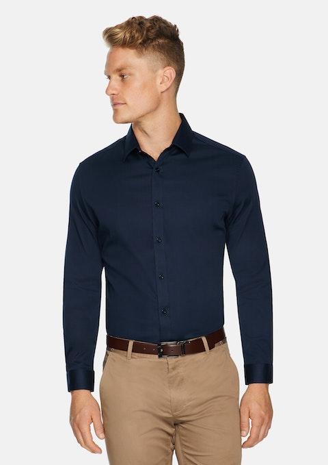 Midnight Bahamas Slim Stretch Shirt