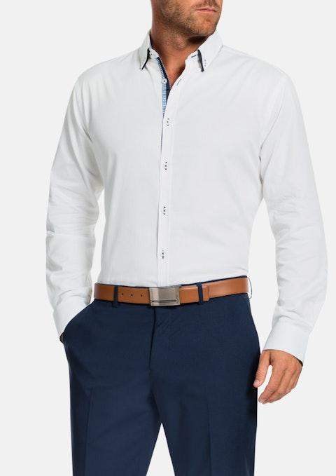 White Antonio Textured Shirt