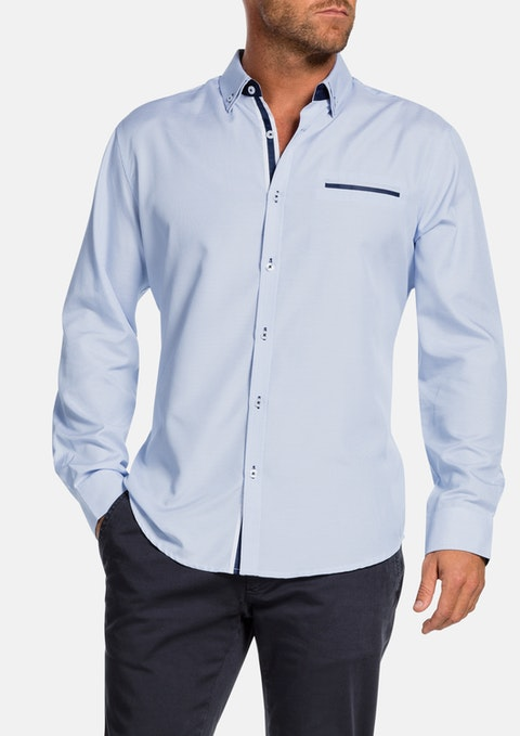 Sky Cameron Textured Shirt