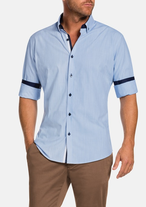 Sky Carrington Stripe Shirt