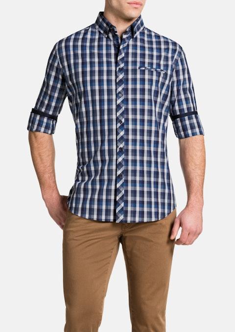 Blue Haldon Check Shirt