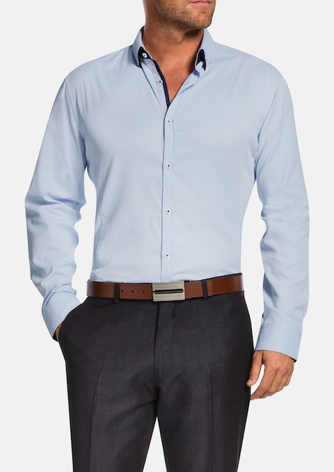 Sky Jeremiah Textured Shirt