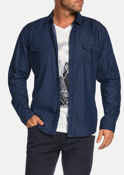 Indigo Dynamite Denim Shirt