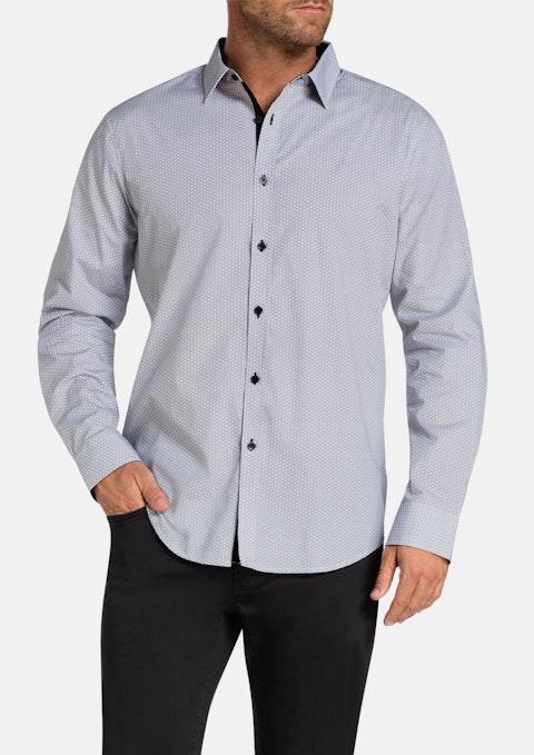 Black Hattan Print Shirt