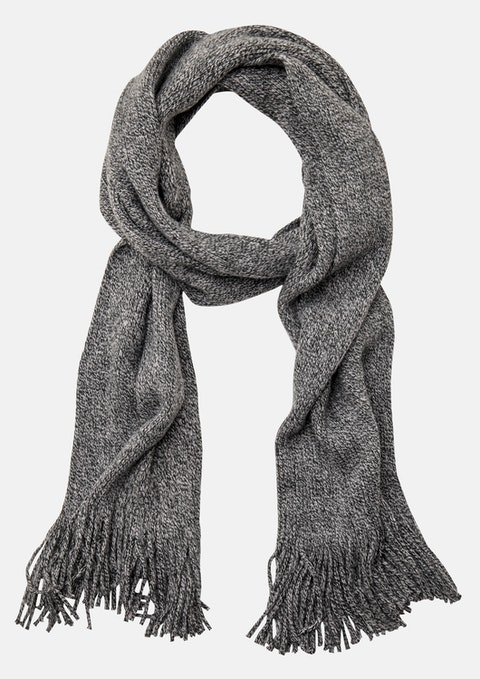 Grey Marle Kingston Textured Scarf
