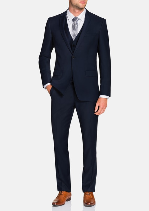Navy Donovan 1 Button Suit