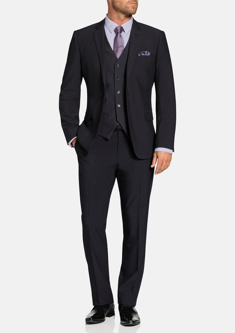 Charcoal Shelby Stretch Suit