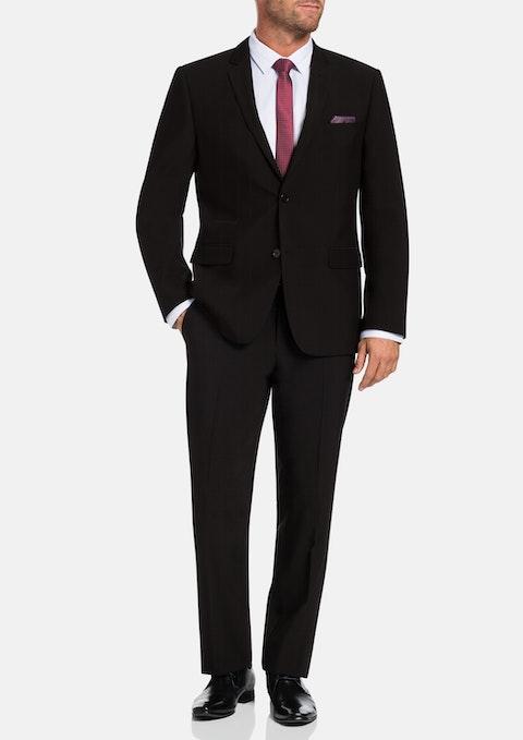 Black Wallis Stretch Suit