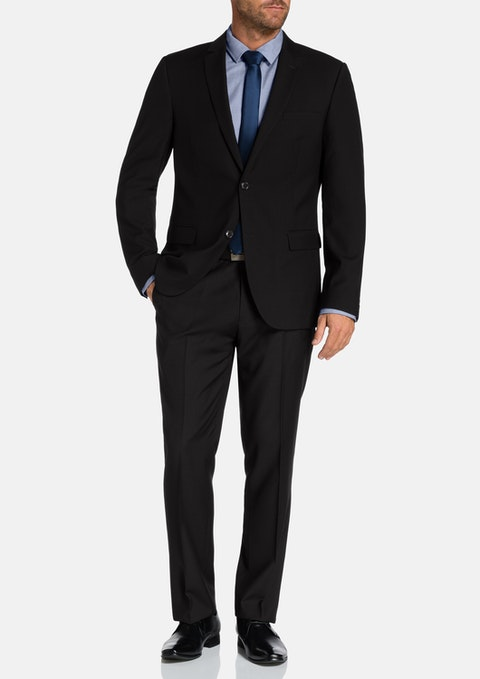 Black Ryan 2 Button Suit