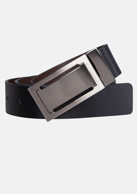 Black/brown Rupert Reversible Belt