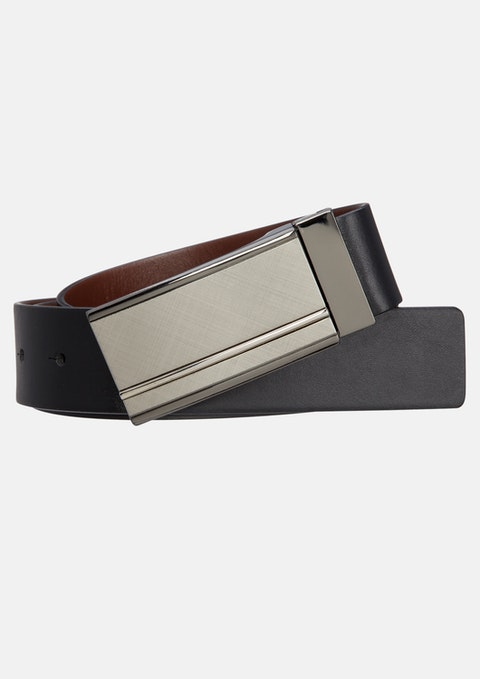 Black/brown Hogan Reversible Belt