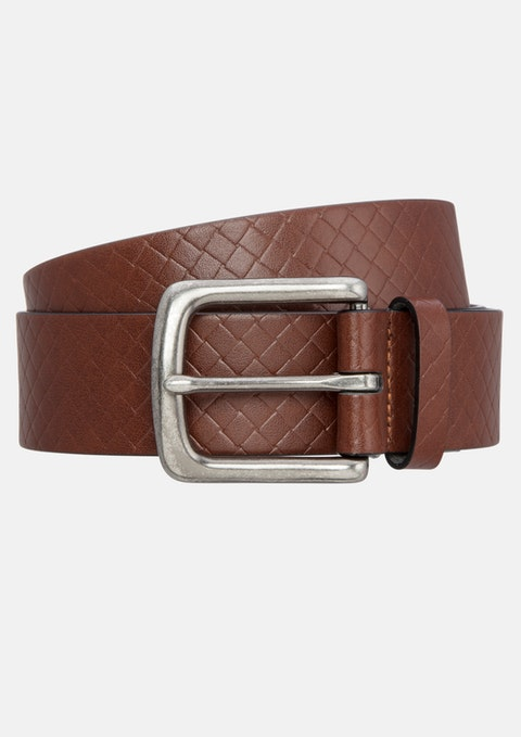 Tan Rex Prong Belt