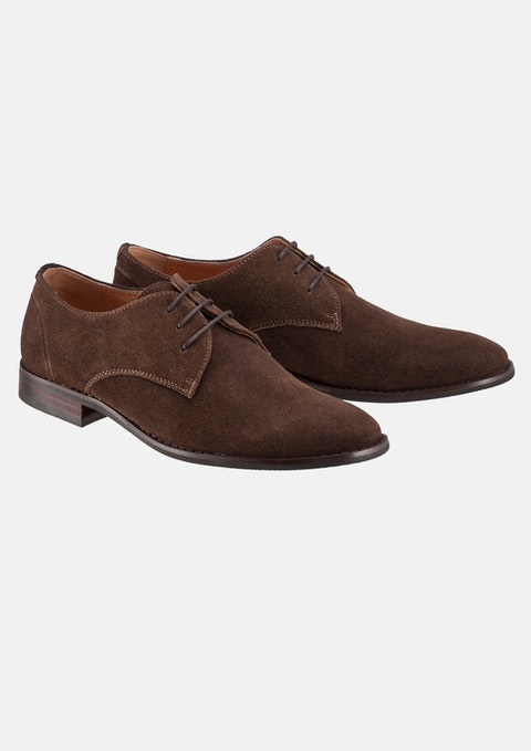 Chocolate Ben Suede Dress Shoe