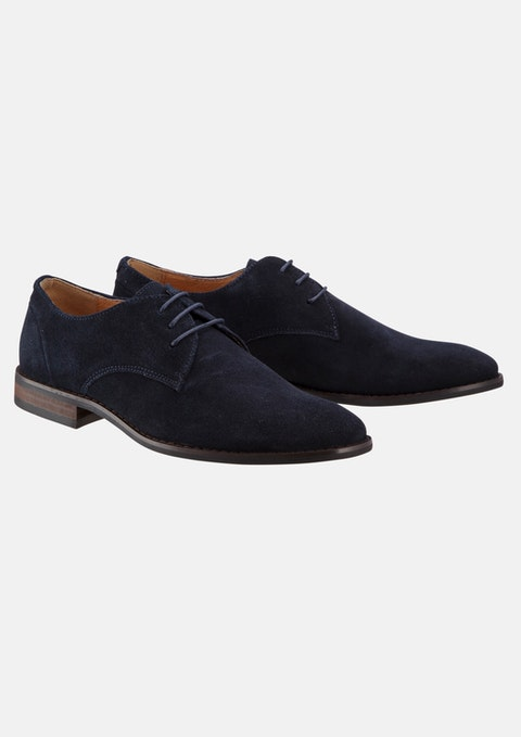 Navy Ben Suede Dress Shoe